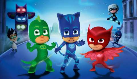 eOne announces partner for PJ Masks in China