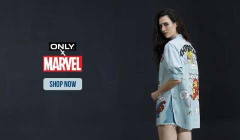 ONLY unveils Marvel special edition capsule collection