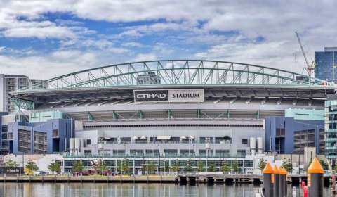 Melbourne renames Etihad stadium as Marvel Stadium