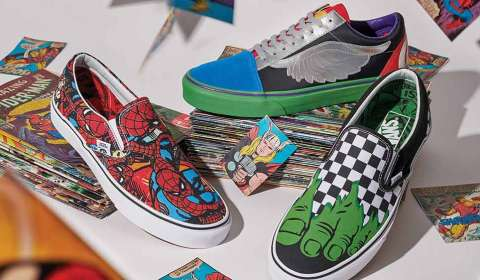 Vans, Marvel join forces for a massive footwear collection