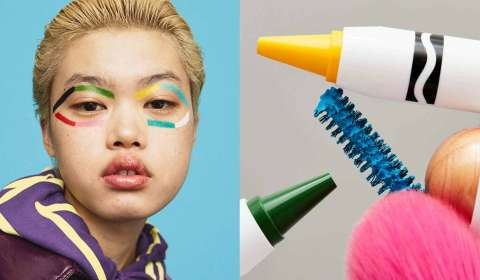 Crayola & ASOS collaborate to create new beauty collection