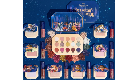 Colourpop collabs with Disney for cosmetics line