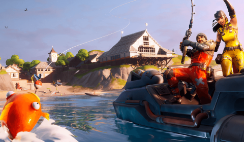 'FORTNITE' GOES DARK BEFORE INTRODUCING CHAPTER 2