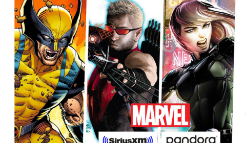 SIRIUSXM LANDS DEAL FOR EXCLUSIVE MARVEL PODCASTS