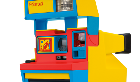 MTV goes retro with new branded Polaroid camera.