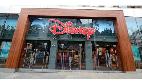 Flagship Disney store in London