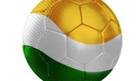 IMG Reliance pally with Football in India