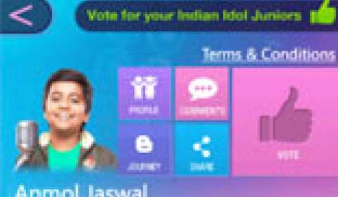 Indian Idol Junior App now on Windows phone