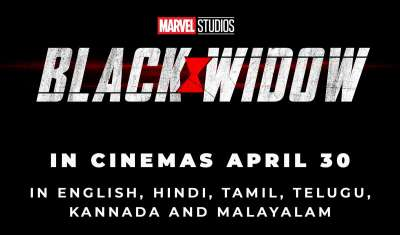 Marvel Studios' Black Widow to release in India on 30th April 2020 in 6 languages