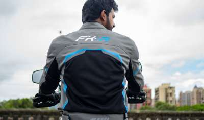 FAISAL KHAN LAUNCHES A SPECIAL LINE OF RIDING GEAR- FK-R