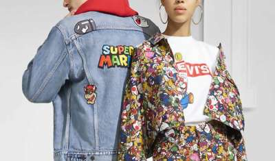 Levi's Launching Super Mario-Themed Collection
