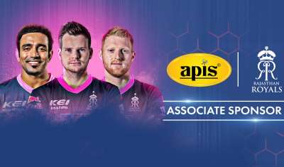APIS Honey partners with Rajasthan Royals