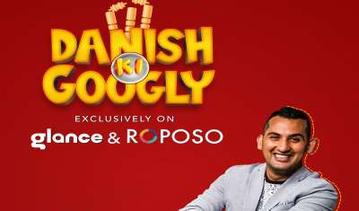 Glance Launched Its 1st Exclusive Cricketainment Series with Danish Sait on Roposo