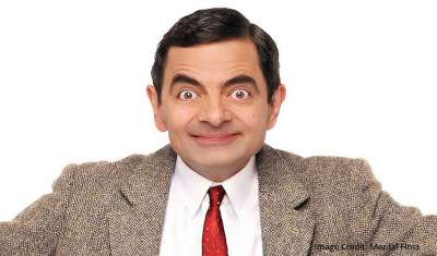 Mr. Bean making his way to India
