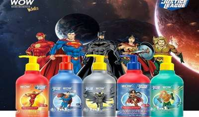 WOW Skin Science to launch DC's 'Justice League' Product Line