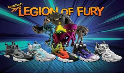 Reebok presents 'Legion of Fury' collection