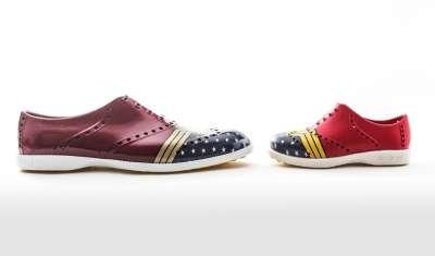 Biion Footwear, Warner Bros. Create Wonder Woman Shoe
