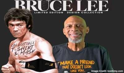 Kareem Abdul-Jabbar, Bruce Lee Collaborate to Launch New Apparel Brand