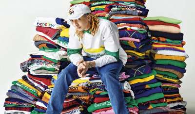 Italian Rapper Ghali to Create Capsule Collection for United Colors of Benetton