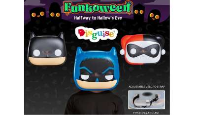 Disguise Announces Global Multi-Year Deal with Funko to Create POP! Masks
