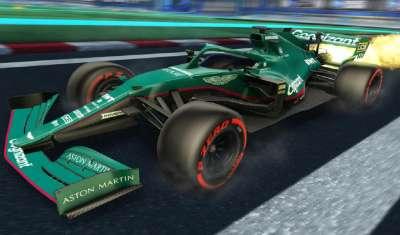 Formula 1 Car, Team Liveries Launch in Rocket League to Kick-Off Multi-Year Licensing Partnership
