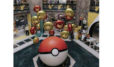 Galeries Lafayette x Pokemon Collection Launched
