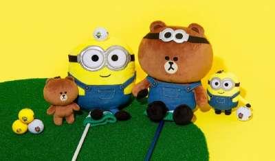 Line Friends Launches 'Minions x Brown & Friends' Line