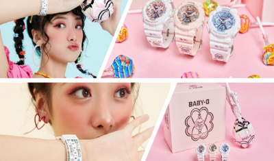CASIO BABY-G, Chupa Chups Launch Capsule Collection