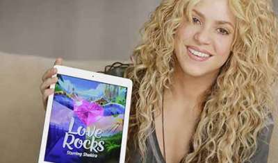 Rovio's Love Rocks with Shakira