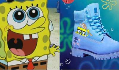 Timberland launches SpongeBob themed shoes and apparel